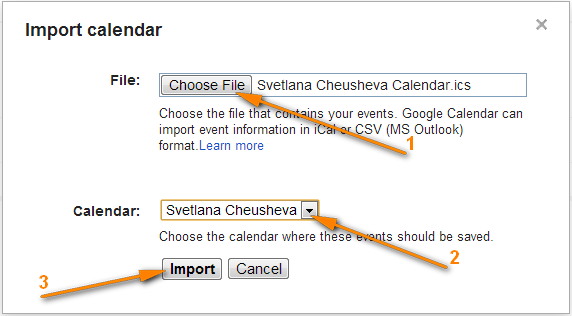 How to sync Google Calendar with Outlook (2016, 2013 and 2010)