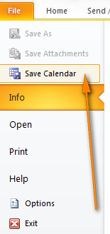 How to sync Google Calendar with Outlook (2010, 2013 and 2016)