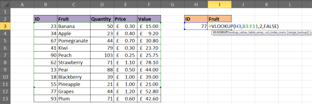 VLOOKUP does not check newly added rows