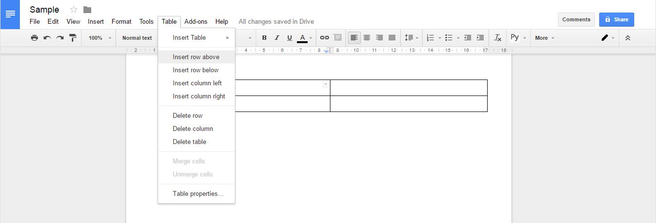Word Online Vs Google Docs - Google docs