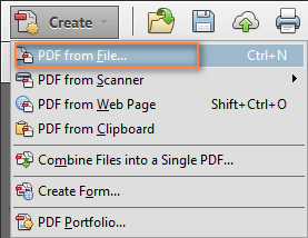 Converting a Word doc to PDF from Adobe Acrobat