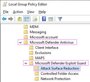 Microsoft Defender.