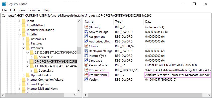 Open Registry Editor.