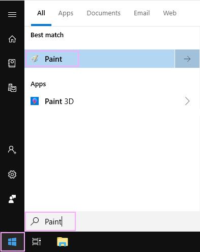 Find Paint.