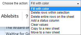 Process Google Sheets duplicates in different ways.