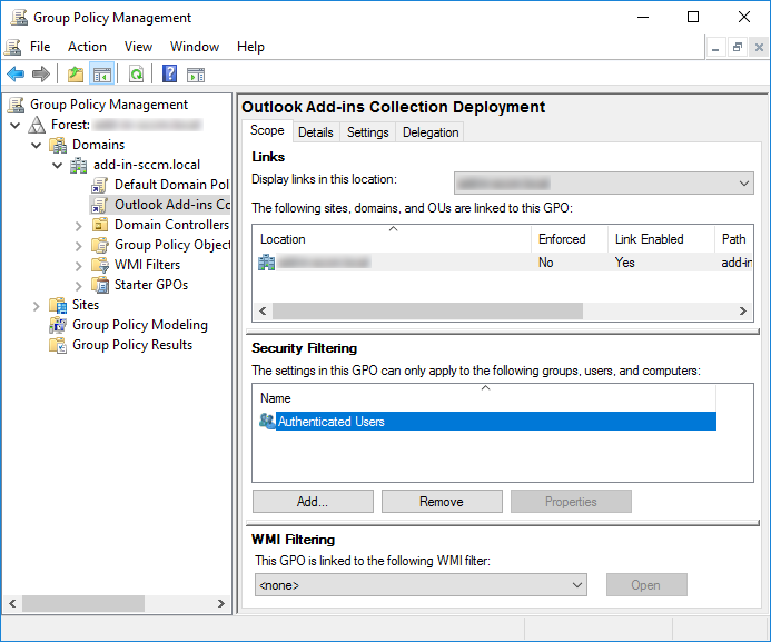 Add-ins Collection for Microsoft deployment.