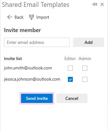 Invite several members.