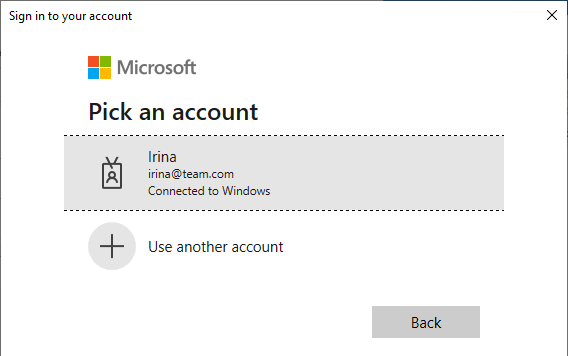 Sign in to Microsoft.