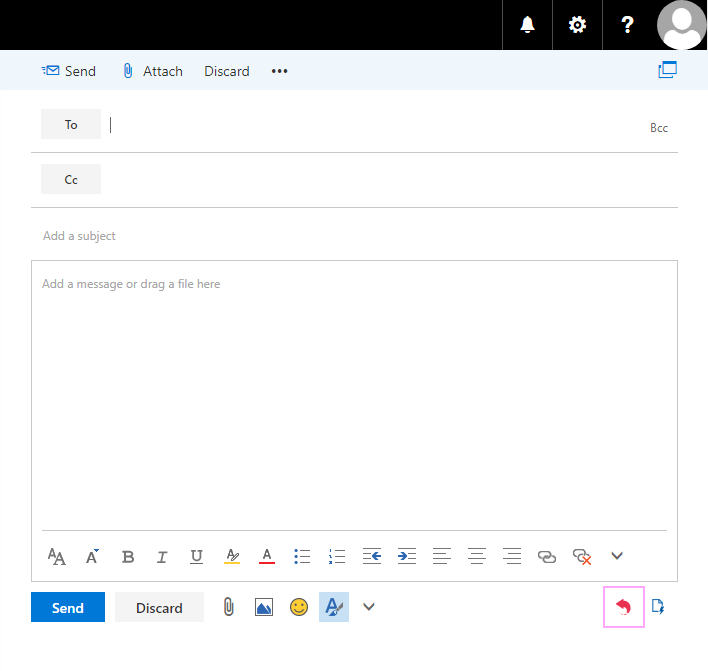 Create New Email.
