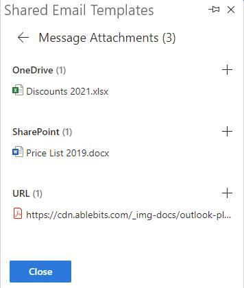 Attach files.