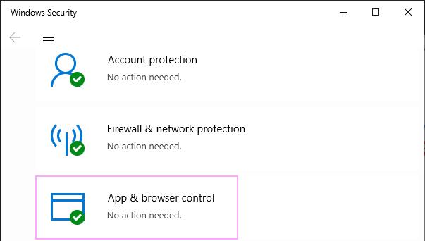 Click App & browser control.