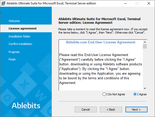 Please read the license agreement.