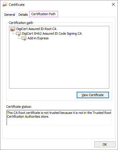 Certification Path.
