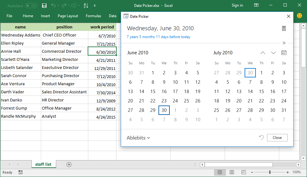 how to add months to the date excel