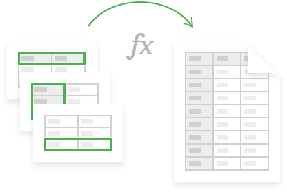 Consolidate Sheets add-on for Google Sheets