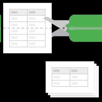 Split Sheet for Google Sheets