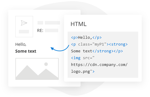 HTML-based templates