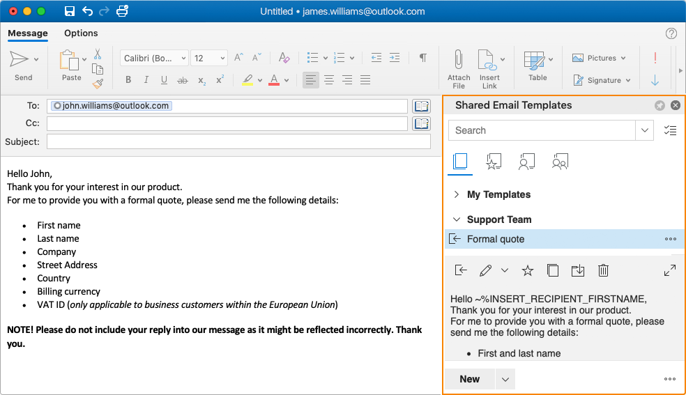 Prefer working on Mac? Good news: Outlook on Mac is supported