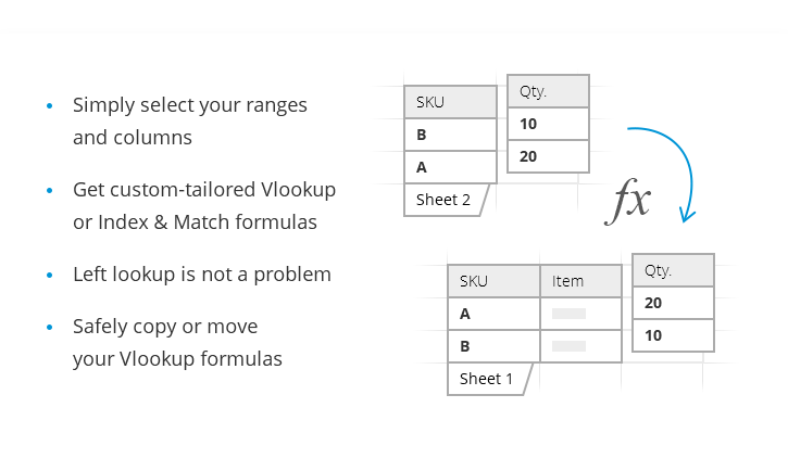Easy way to build complex VLOOKUP formulas