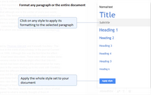 Styles for Google Docs